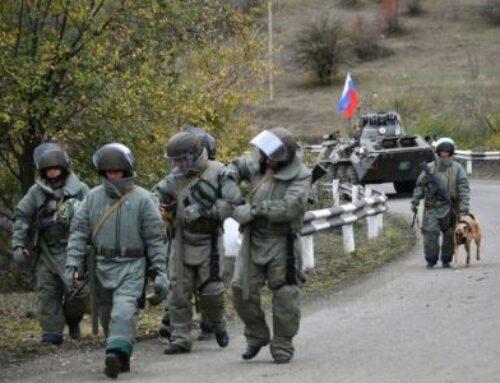 Ռուս խաղաղապահներն ապահովում են Լաչինի միջանցքով տրանսպորտի երթեւեկության անվտանգությունը