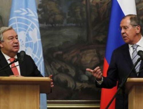 ՌԴ ԱԳՆ ղեկավարը եւ ՄԱԿ-ի գլխավոր քարտուղարը քննարկել են Լեռնային Ղարաբաղում հումանիտար իրավիճակը