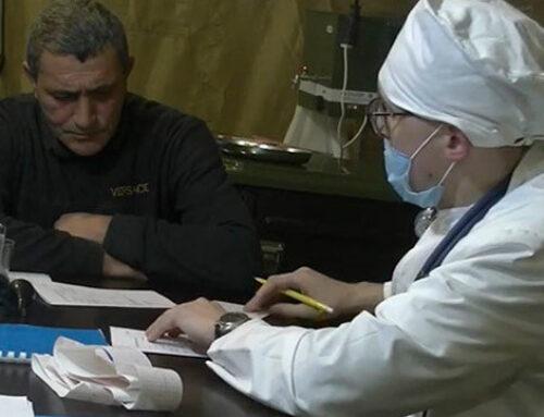 Հատուկ բժշկական ստորաբաժանումը Ստեփանակերտի բնակչությանը սկսել է օգնություն տրամադրել