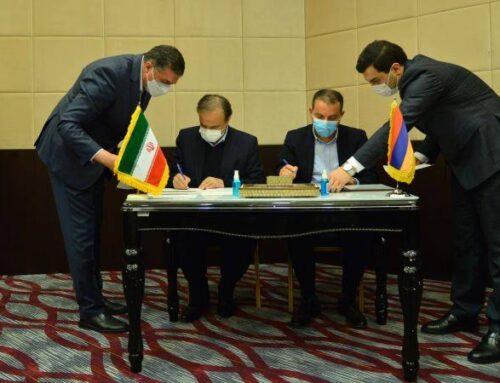 ՀՀ էկոնոմիկայի նախարարն Իրանի պաշտոնակցի հետ հուշագիր է ստորագրել