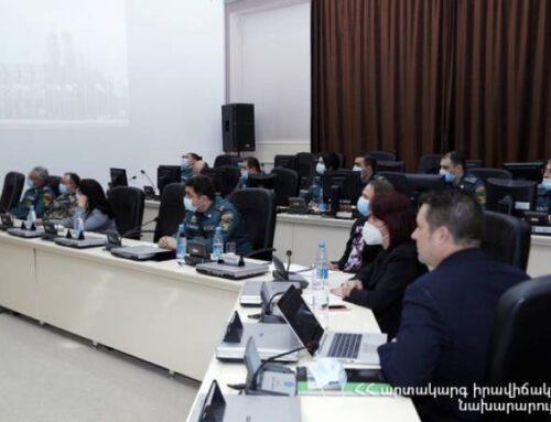 ՀՀ և ՌԴ ԱԻ նախարները քննարկել են մարդասիրական կենտրոնի գործունեության ընդլայնման հարցեր