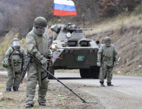 ՌԴ խաղաղապահները Լեռնային Ղարաբաղում ականազերծել են շուրջ 747,3 հա տարածք