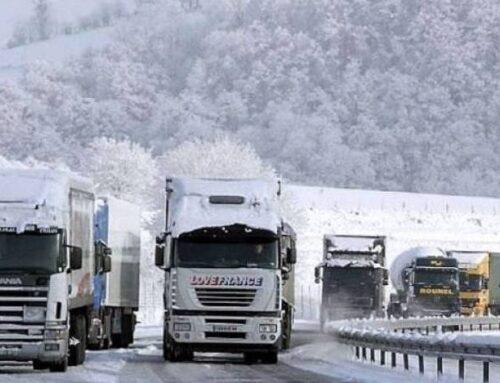 Ստեփանծմինդա-Լարս ավտոճանապարհը փակ է, ռուսական կողմում կա կուտակված 450 բեռնատար ավտոմեքենա