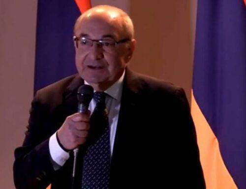 Վազգեն Մանուկյանը գտնվում է Երևանում, այս պահին որևէ մարզային այցելություն չունի