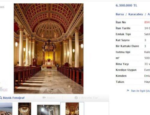 Թուրքերը ևս մեկ հին հայկական եկեղեցի են վաճառքի հանել