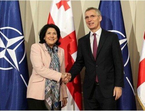 Վրաստանի նախագահը Բրյուսելում կհանդիպի ՆԱՏՕ-ի գլխավոր քարտուղարի հետ