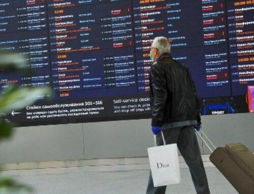 Մոսկվայում չեղարկել կամ հետաձգել են շուրջ 20 ավիաչվերթ