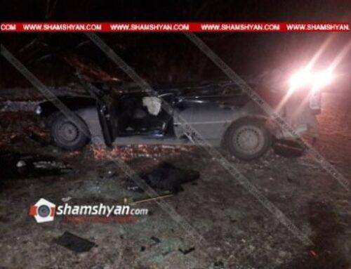 32-ամյա վարորդը Mercedes-ով բախվել է կամրջի ճաղավանդակին և 4,5 մետր բարձրությունից ցած ընկել. նա հիվանդանոցում մահացել է