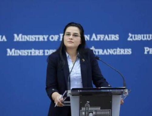 Զորավարժությունները չեն վկայում, որ թուրք-ադրբեջանական ղեկավարությունը խաղաղ մտադրություններ ունի ՀՀ հանդեպ. ԱԳՆ խոսնակ