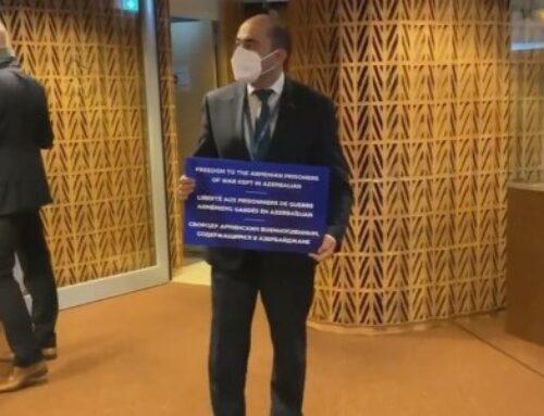 ԵԽԽՎ նիստն սկսեցինք մեր բողոքի ձայնը բարձրացնելով և պահանջելով միջազգային ճնշում գործադրել Ադրբեջանի նկատմամբ.Մարուքյան