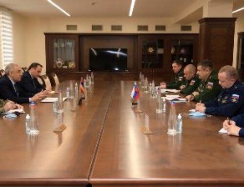 Հայաստան է ժամանել ՌԴ ԶՈՒ պատվիրակությունը. Սերգեյ Իստրակովը հանդիպել է Օնիկ Գասպարյանի եւ Վաղարշակ Հարությունյանի հետ