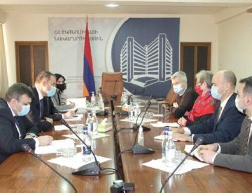 Վահան Քերոբյանը եւ Հայաստանում ԵՄ դեսպան Անդրեա Վիկտորինը քննարկել են համագործակցության խորացման հնարավորությունները