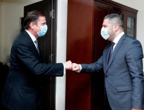 ԱԻ փոխնախարարն ու Ֆրանսիայի դեսպանության ներքին անվտանգության կցորդը քննարկել են համագործակցության ծրագրեր