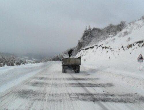 Գեղարքունիքի Գավառ, Մարտունի և Ճամբարակ քաղաքներում ձյուն է տեղում. Վարդենյաց լեռնանցքը դժվարանցանելի է