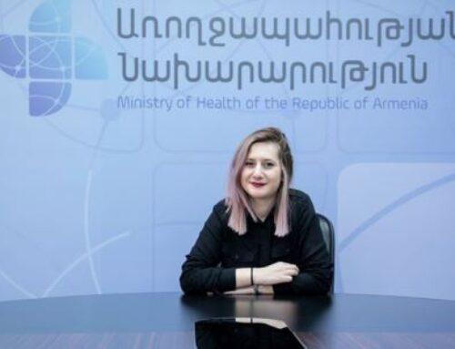 Այսօրվանից դադարում եմ իրականացնել առողջապահության նախարարի մամուլի քարտուղարի պարտականությունները. Ալինա Նիկողոսյան