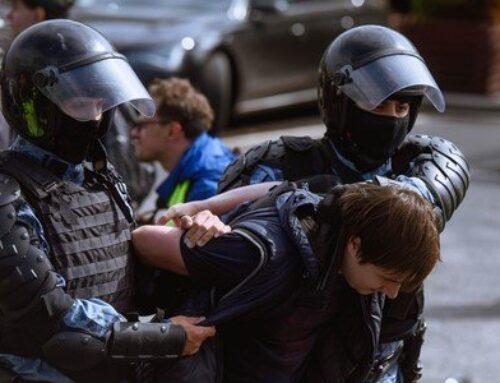 Ոստիկանությունը ազատ է արձակել Մոսկվայում կայացած ցույցի ժամանակ ձերբակալված բոլոր անչափահասներին