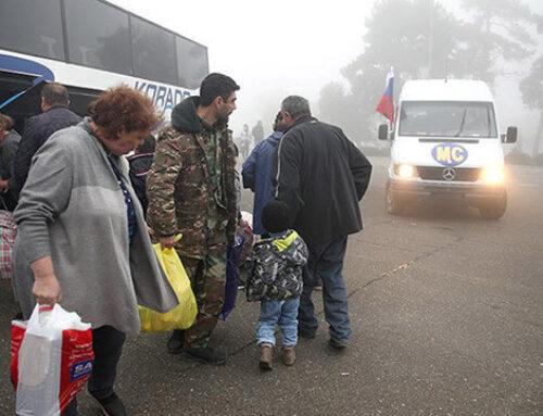 Մոտ 175 փախստական է մեկ օրում վերադարձել Լեռնային Ղարաբաղ