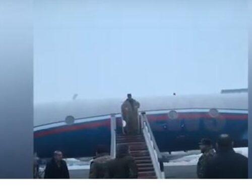 5 գերիներին տեղափոխող ինքնաթիռը վայրէջք կատարեց Էրեբունիում․ 24News-ի կադրերը