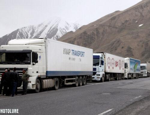 ՀՀ-ում կան փակ ավտոճանապարհներ․ Լարսում կա կուտակված 760 բեռնատար