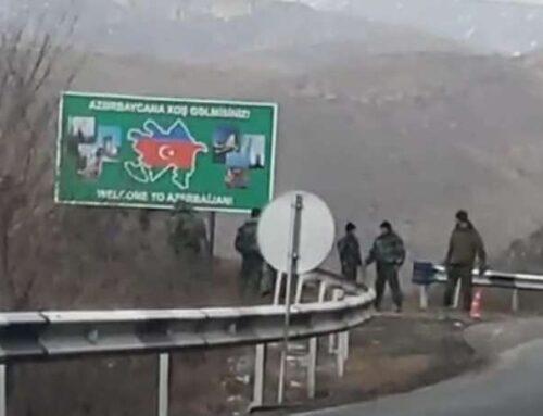 Գորիս-Կապան ճանապարհին ադրբեջանցիները ծաղրում են մեր հայրենակիցներին` ձեռքի ժեստով հասկացնելով, թե «ձեր վիզը կկտրենք»