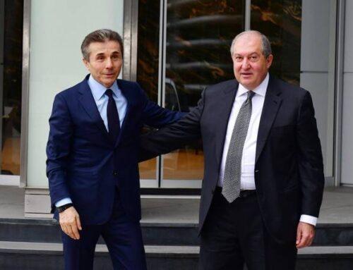 Նախագահ Արմեն Սարգսյանը շնորհավորել է Բիձինա Իվանիշվիլիին՝ ծննդյան 65- ամյակի առթիվ