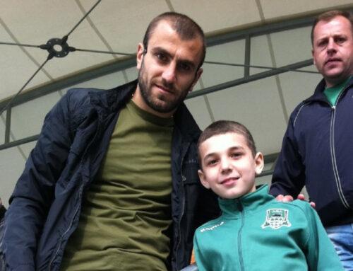Յուրա Մովսիսյանը բարի գալուստ է մաղթել Էդուարդ Սպերցյանին Հայաստանի հավաքականում