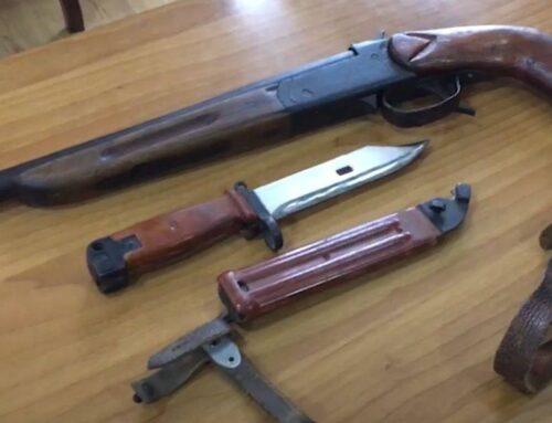 Ոստիկանները ապօրինի պահվող զենք-զինամթերք են հայտնաբերել