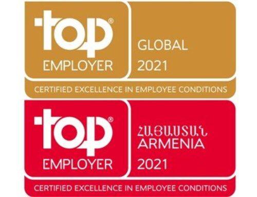 «Ֆիլիպ Մորրիսը»-ը՝ Հայաստանի 2021 թվականի լավագույն գործատու