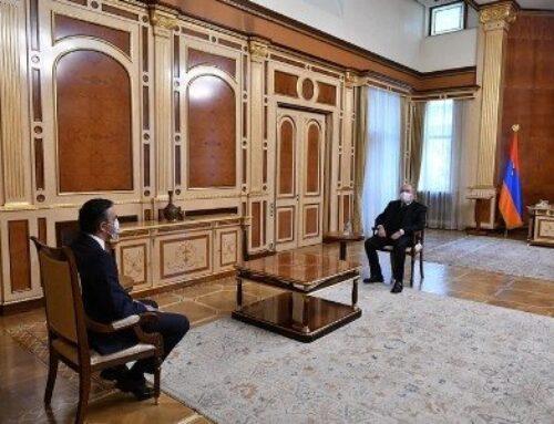 Արմեն Սարգսյանն ու Արման Թաթոյանը քննարկել են գերիների վերադարձի եւ այլ հարցեր