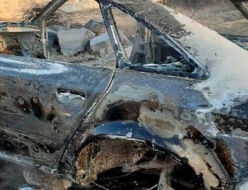 Փարաքարում «Audi A6»-ն այրվել է