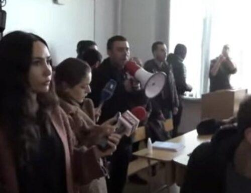 «Մենք այսօր 2 բուհ վերցրեցինք». Ակցիայի մասնակիցները մտնում են լսարաններ, որտեղ դասապրոցես է ընթանում