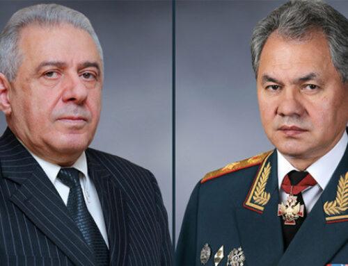 Հեռախոսազրույց են ունեցել Հայաստանի և Ռուսաստանի պաշտպանության նախարարները
