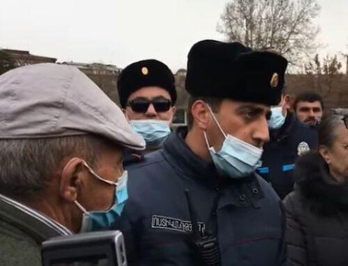 Փաշինյանի աջակիցը հայհոյանքներով հարձակվել է Yerkir.am-ի թղթակցի վրա