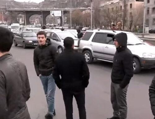 Նիկոլ Փաշինյանի հրաժարականի պահանջով փակ են մայրաքաղաքի մի շարք փողոցներ