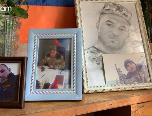 Կապիտան Արմեն Պետրոսյանը զոհվեց Մարտակերտում՝ չզիջելով ոչ մի թիզ հող, հիմա նույն դիրքում ծառայում է նրա կրտսեր եղբայրը