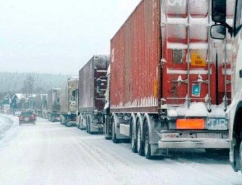 Լարսը բաց է․ ռուսական կողմում մոտ 500 կուտակված բեռնատար կա