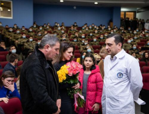 ԵՊԲՀ ռազմաբժշկական ֆակուլտետի անմահացած ուսանող Ազատ Զաքարյանին նվիրված հուշ-երեկո է տեղի ունեցել