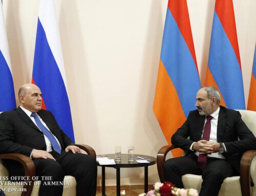 Վարչապետը շնորհավորական ուղերձ է հղել Ռուսաստանի վարչապետին