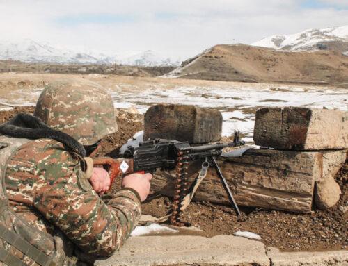 ՀՀ պետական սահմանի հայ-ադրբեջանական շփման գծի ամբողջ երկայնքով սահմանային միջադեպեր չեն արձանագրվել