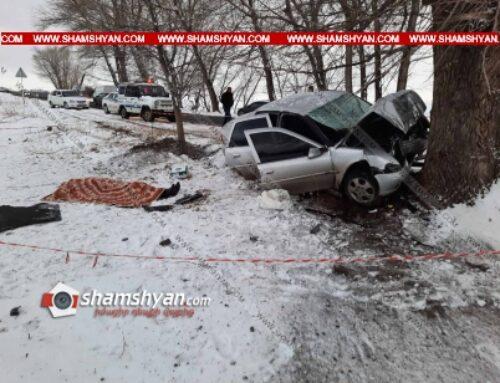 Ողբերգական ավտովթար Գեղարքունիքի մարզում. 59-ամյա վարորդը Opel-ով բախվել է ծառին. ուղևորը տեղում մահացել է
