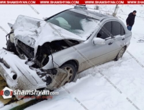 Ավտովթար Գեղարքունիքի մարզում. բախվել են Mercedes-ն ու Opel-ը. կա վիրավոր