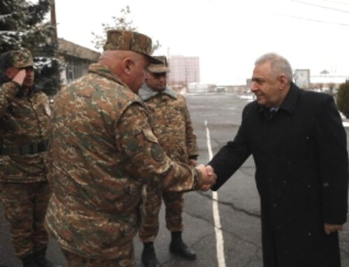 ՀՀ պաշտպանության նախարարն այցելել է 5-րդ զորամիավորում