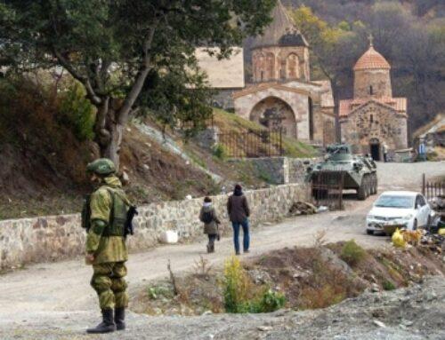 Ռուս խաղաղապահները հայ ուխտավորներին Ստեփանակերտից ուղեկցել են Դադիվանք և Ամարաս