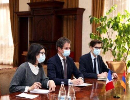 Ֆրանսիան պատրաստ է խորացնել համագործակցությունը քաղաքացիական անվտանգության և արտակարգ իրավիճակների ոլորտում