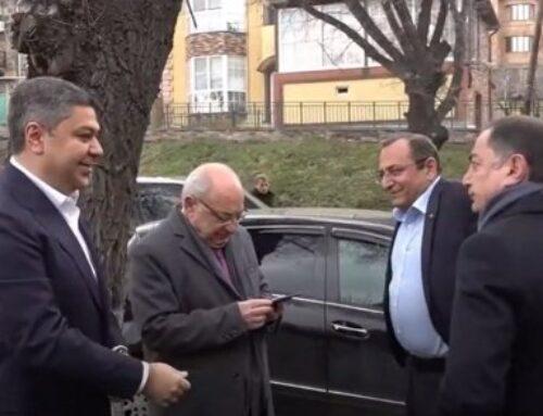 «Հայրենիքի փրկության շարժման» պատվիրակությունը այս պահին հանդիպում է ՀՀ նախագահի հետ
