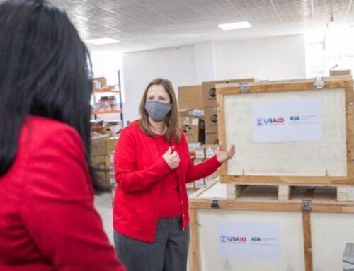 Առողջապահության նախարարությանը փոխանցվեց թթվածնի 50 թթվածնի խտացուցիչ ու 4 շարժական ռենտգեն սարք. ԱՄՆ դեսպանություն