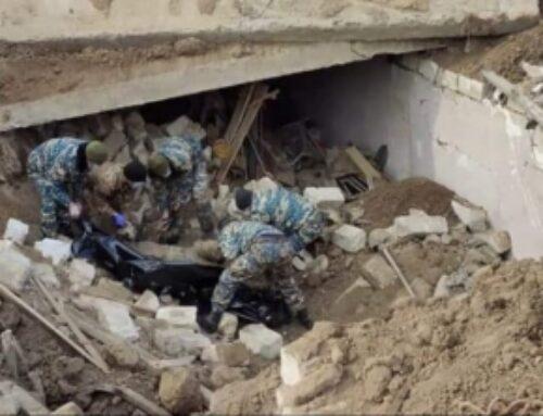 Մարտակերտի զորամասերից մեկի հարակից տարածքում զինվորները հայտնաբերել են մեկ զոհված զինծառայողի մասունք