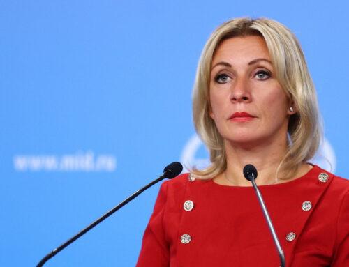 «ՌԴ-ն Հայաստանում ստեղծված իրավիճակը համարում է երկրի ներքին գործը». Զախարովա