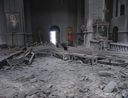Եվրոպական հանձնաժողովը դատապարտում է 2020թ պատերազմի ընթացքում Ադրբեջանի կողմից Սուրբ Ղազանչեցոց եկեղեցու ռմբակոծումը