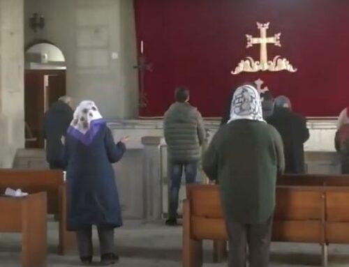 Հայ ուխտավորները ՌԴ խաղաղապահների ուղեկցությամբ այցելել են Դադիվանք
